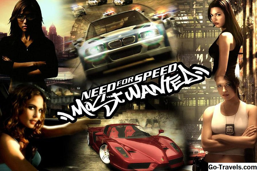 Need for Speed Most Wanted Kody i sekrety - Gamecube